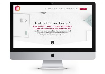 Leaders Rise Accelerator Coaching and Mentoring Program